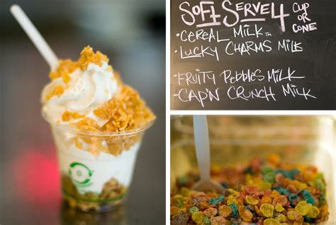 Sugar Rush Momofuku Milk Bar's New Cereal Soft Serve