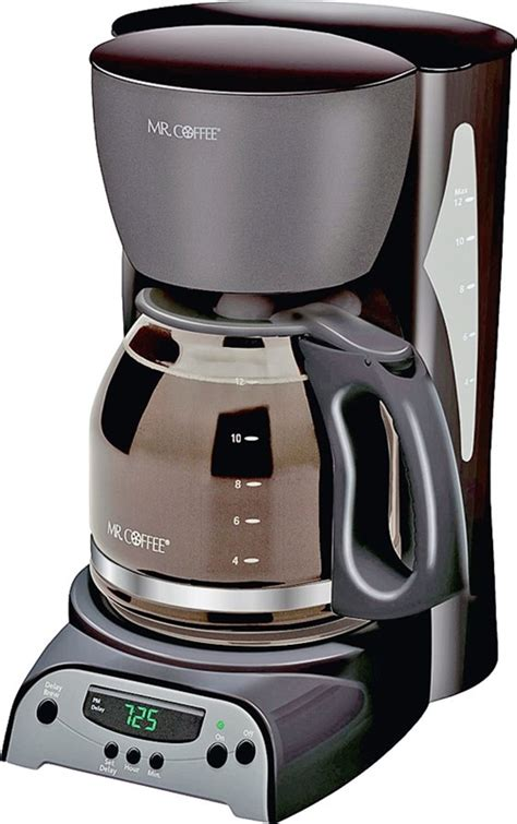 Even if you live alone and are not an avid coffee drinker, having a large coffee maker would come in handy when you have a bunch of guests at home. Mr. Coffee Programmable Coffee Maker, 12 Cups Capacity ...