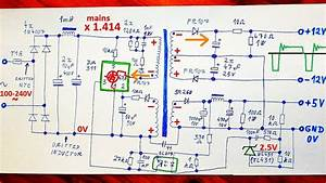 How Does A Switching Power Supply Work 1  Schematic