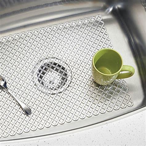 cut to size sink mat interdesign stari 25 inch x 12 inch farmhouse kitchen
