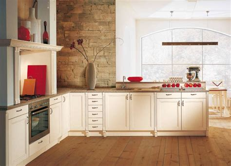 Classic Kitchen Red Accents