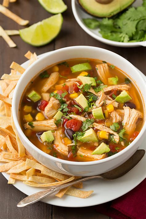 cooker chicken tortilla soup slow cooker chicken tortilla soup your ultimate guide to slow cooker recipes popsugar food