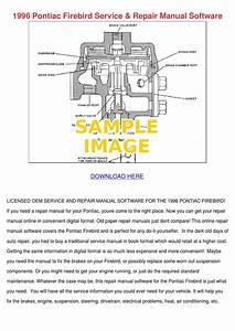 68 Firebird Service Manual Pdf