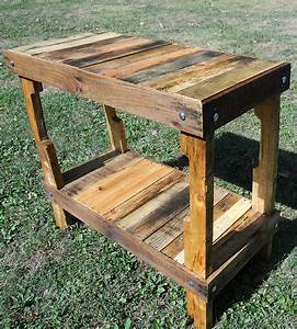 Upcycled Pallet Wood Table Home Furniture Matt Rivera
