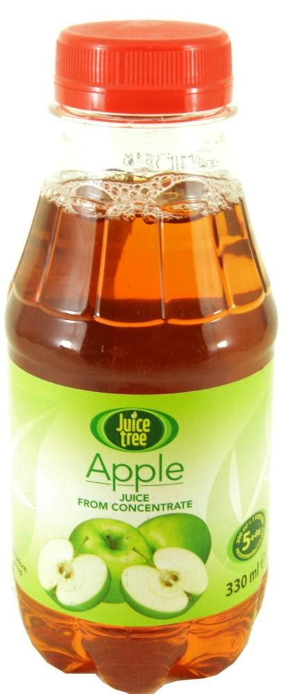 juice apple tree concentrate 330ml juices food approvedfood
