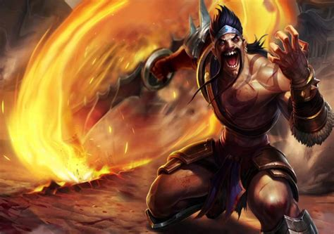 Draven Animated Wallpaper - gladiator draven animated splash fan made