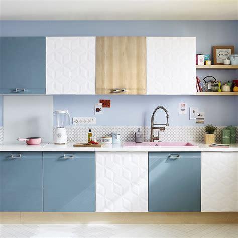 portes de placard cuisine peinture cuisine les couleurs tendance à adopter