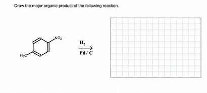 Draw Organic Following Major Reaction H2 Pd