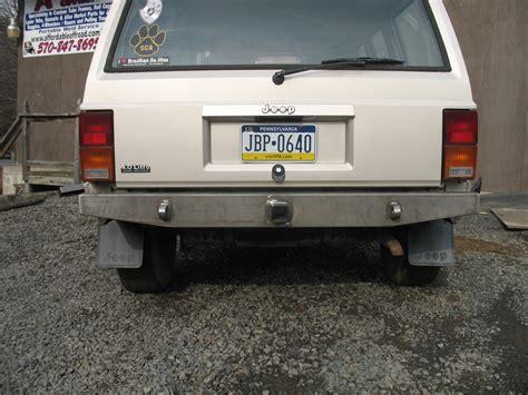 jeep cherokee rear bumper elite rear bumper jeep cherokee xj 84 01 affordable