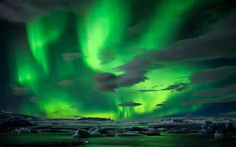 Northern Lights Animated Wallpaper - beautiful green northernlights wallpapers beautiful