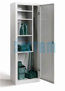 armoire a balais armoire d39entretien simple With placard a balai exterieur