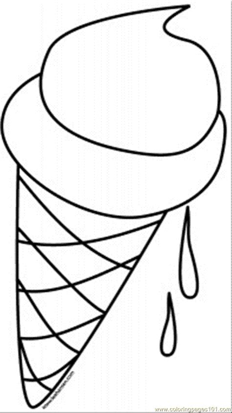 ice cream cone coloring pages coloring home