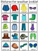 FREEBIE*The Weather Is...What Can I Wear? Clothing ...