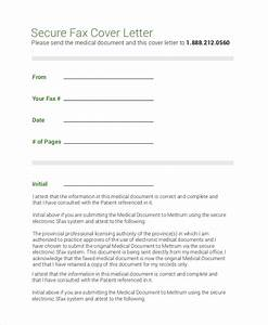 8 sample fax cover letters pdf word With fax cover medical