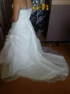 robe de mariee ivoire ajustable avec petite traine d39occasion With boutique mariage avec bijoux occasion