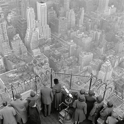 The Empire State Building Observation Deck On The 86th