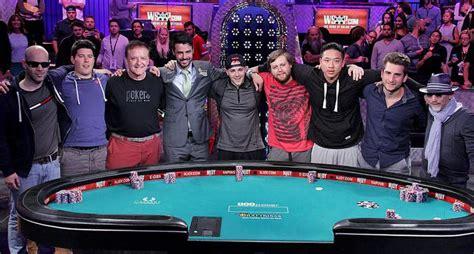 world series of poker final table november nine set in 2015 world series of poker main event