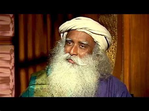 ndtvs vikram chandra speaks  sadhguru jaggi vasudev