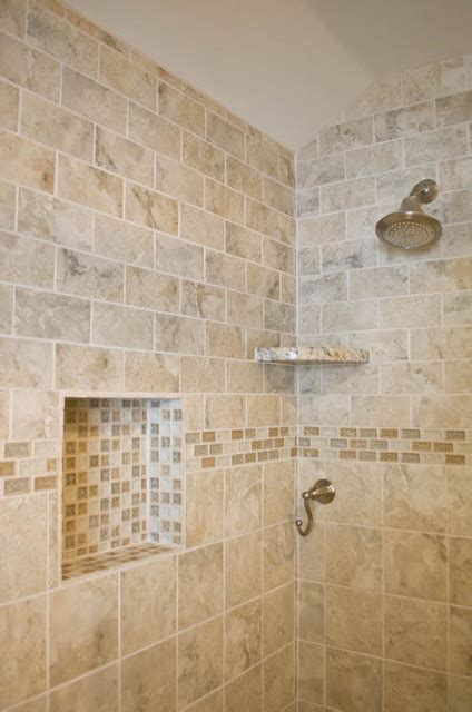 bathroom design  remodel  beigegrey tile