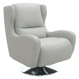 Leather Barrel Swivel Chairs Living Room