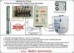 Water Level Controller  Semi Water Level  Fully Automatic Water Level Controller
