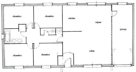 plan maison 100m2 plein pied 3 chambres charmant plan maison 100m2 plein pied 3 chambres 13
