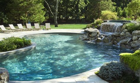 in ground pool ideas tips and design ideas for installing an inground swimming pool large and beautiful photos