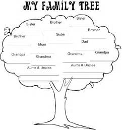 free color my family tree coloring pages