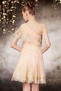 Haut Habillé Pour Soirée : petite robe pour soir e haute couture encolure asym trique ~ Melissatoandfro.com Idées de Décoration