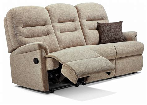 Recliner Settee by Sherborne Keswick 3 Seater Recliner Settee