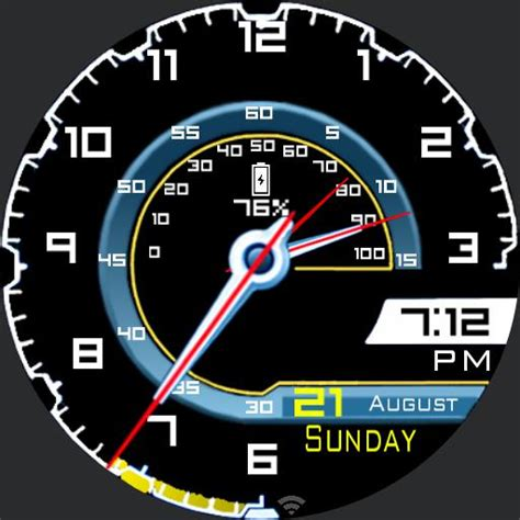 lamborghini speedometer lamborghini aventador speedometer v02 watch faces for