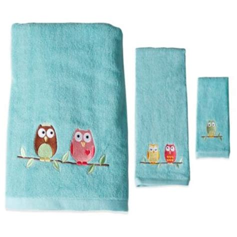 owl bath towel sets buy bright colored bath towels from bed bath beyond