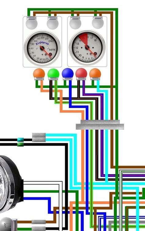 Honda Cbf Usa Spec Colour Wiring Harness
