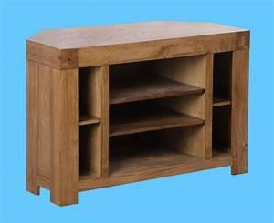 Rc gamme chêne massif Corver meubles TV / bois de chêne