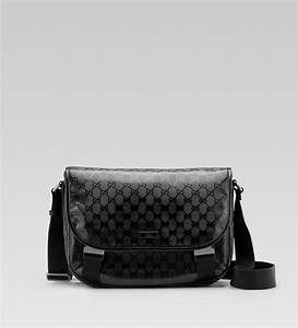 30c11511b083 Gucci Messenger Bag. lyst gucci flap messenger bag in black for men ...