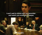 The Social Network (2010) ~ Movie Quotes | Movies - 2010 ...