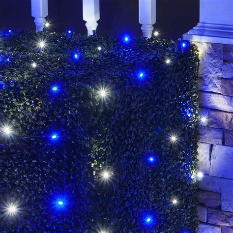blue net christmas lights led net lights 4 39 x 6 39 led net lights 100 blue cool