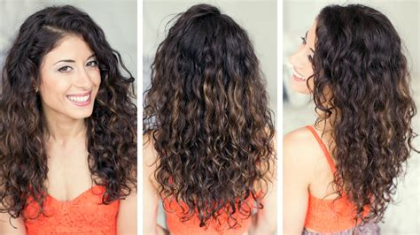 how to style curly wavy hair how to style curly hair 1727