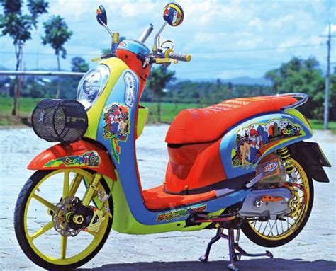 Scoopy Fi Ring 17 by Cara Membuat Motor Drag Scoopy Impremedia Net