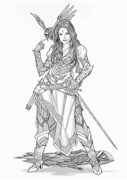Pirate Yamaorce Deviantart Comm Character Female Fantasy