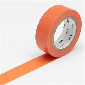 masking tape uni orange masking tape mt chez rougier ple With exceptional couleur de peinture tendance 7 activites pour les enfants peinture avec le livre
