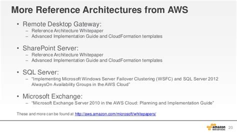 aws webcast active directory  aws