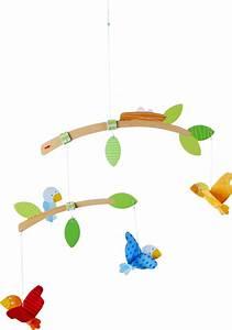Mobile Baby Haba : haba mobile little birds buy at kidsroom toys baby toys ~ Watch28wear.com Haus und Dekorationen