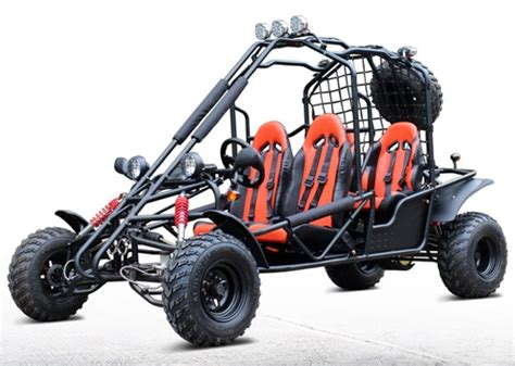 4-seater 169cc Off-road Gas Go Kart