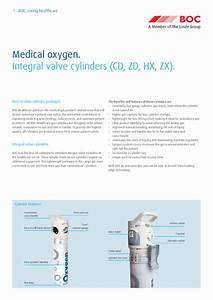 Medical Oxygen Integral Valve Cylinders Guide May 2013 Pdf