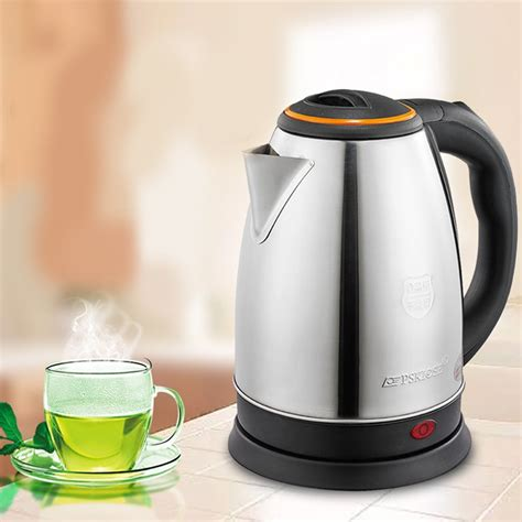 kettle boiling pot water electric coffee heating instant steel teapot stainless household kettles appliance zipper auto appliances