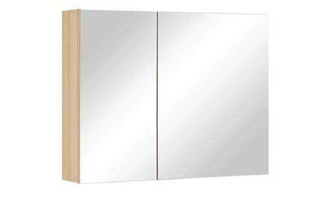 Wohnwert Spiegelschrank Capri  Kernbuche Natur