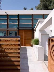 Cloture Maison Moderne : cl tures et palissades de jardin modernes ~ Melissatoandfro.com Idées de Décoration