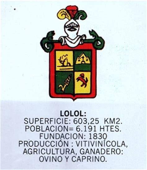 escudos comunales de la sexta region