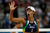 Ana Paula Conelly in Olympics Day 3 - Beach Volleyball ...